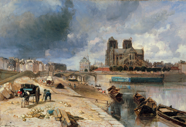 "From ""The History of Paris in Painting"" published by Abbeville Press"