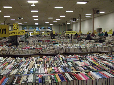 The coliseum of books