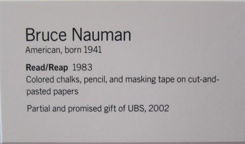 BruceNauman_ReadReap
