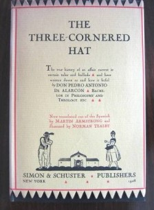 """Three Cornered Hat"""