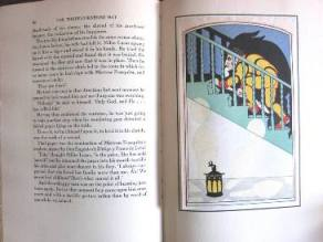 """Three Cornered Hat"" interior illustration"