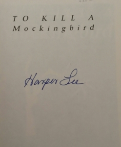 Harper Lee's signature