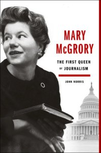 Mary McGrory by John Norris