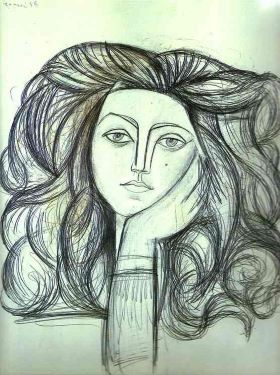 Portrait of Francoise by Pablo Picasso