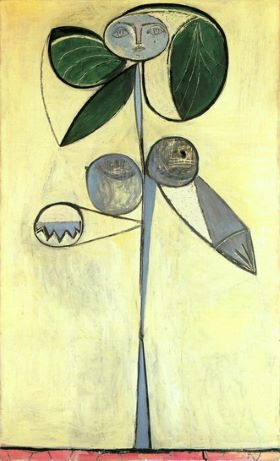 Woman-Flower 1946 by Pablo Picasso